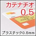 程よい厚みとスリムさで当店一番人気!0.5mmPVC素材の診察券カテナチオ0.5
