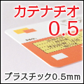 程よい厚みとスリムさで当店一番人気!0.5mmPVC素材のカテナチオ0.5